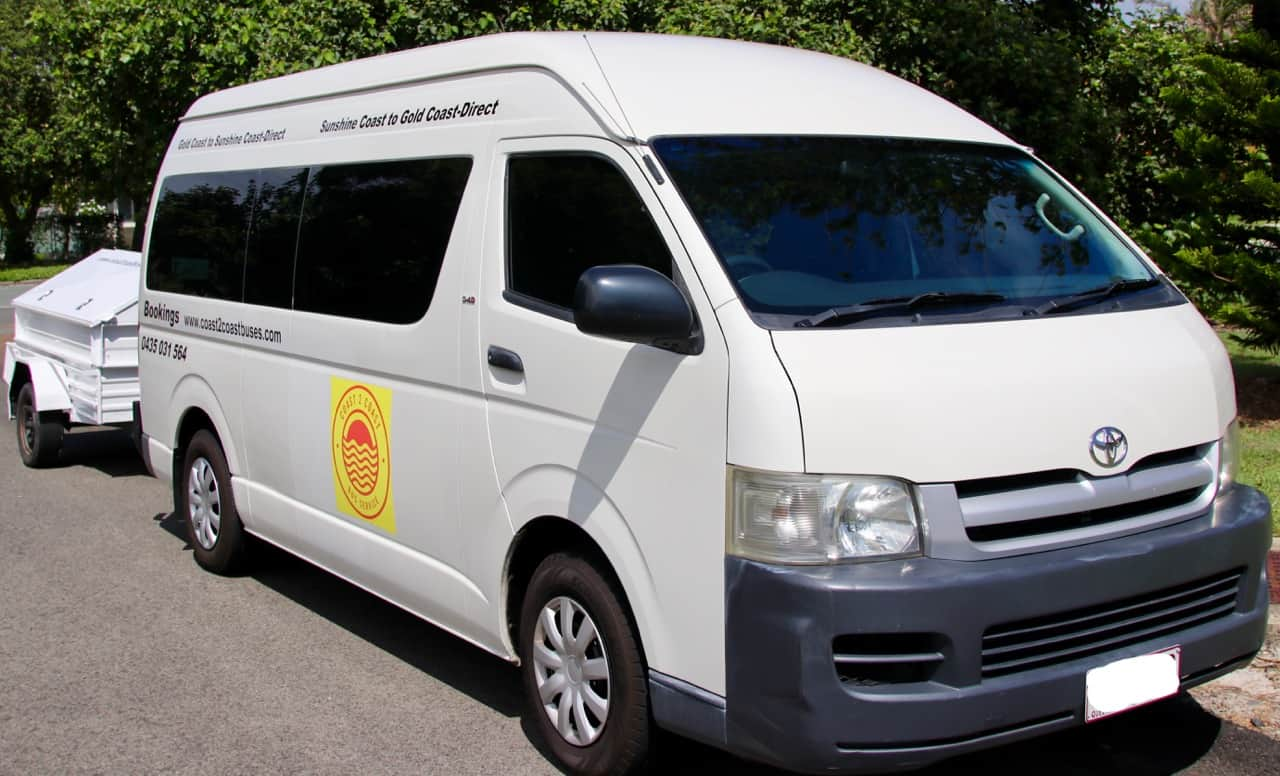 coast 2 coast shuttle bus to eumundi
